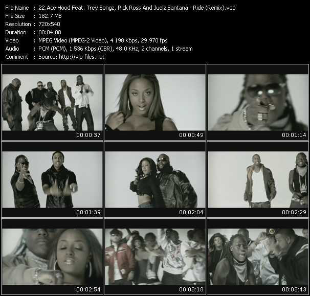 Ace Hood Feat. Trey Songz, Rick Ross And Juelz Santana video screenshot