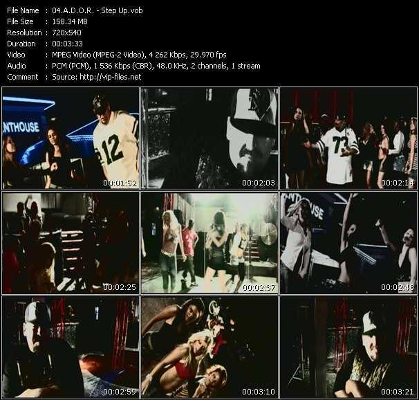 A.D.O.R. video screenshot