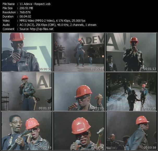 video Respect screen
