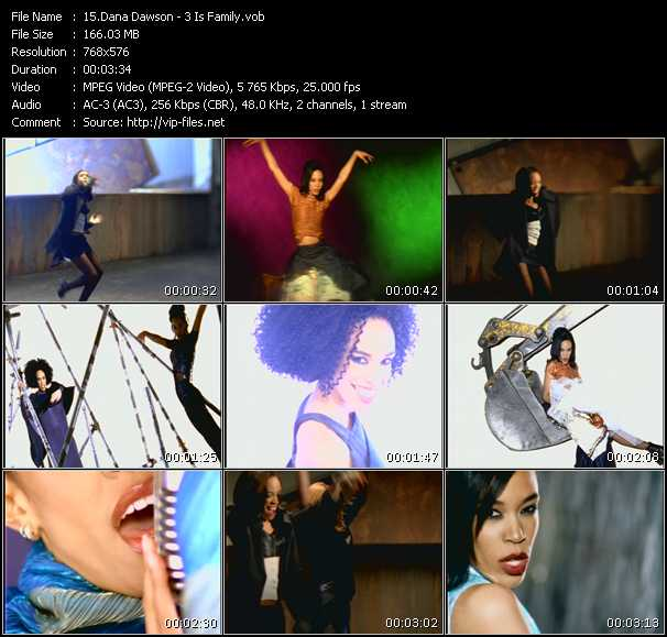 Dana Dawson video screenshot