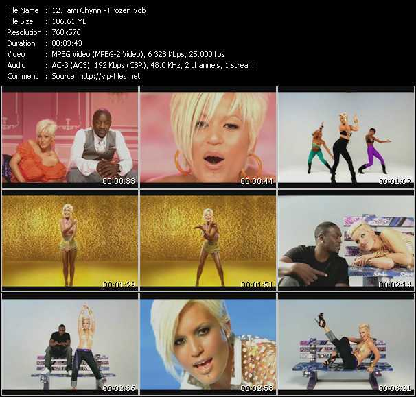 Tami Chynn video screenshot