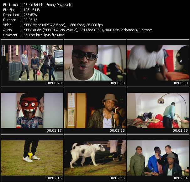 Kid British video screenshot