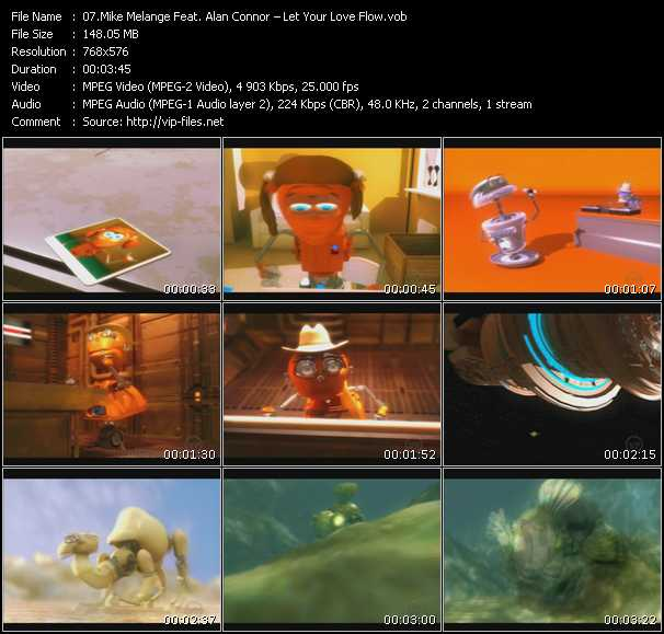 Mike Melange Feat. Alan Connor video screenshot