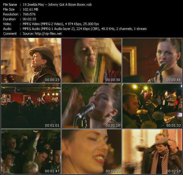 Imelda May video screenshot