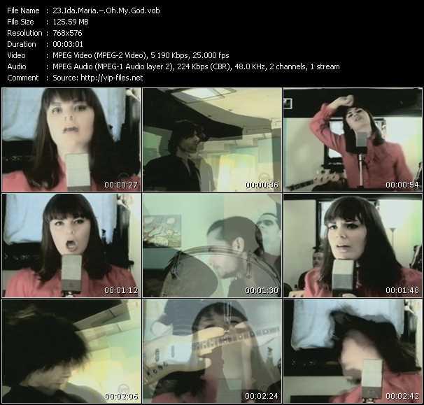 Ida Maria video screenshot