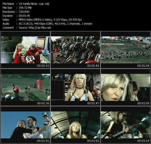 Vanilla Ninja video screenshot
