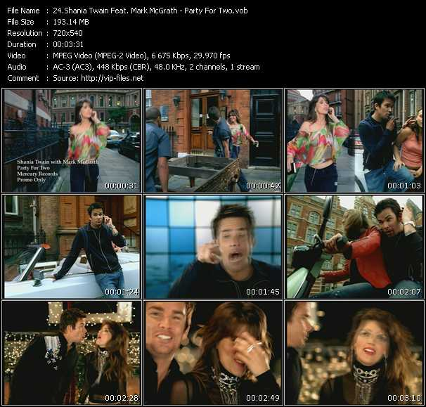 Shania Twain With Mark McGrath video screenshot