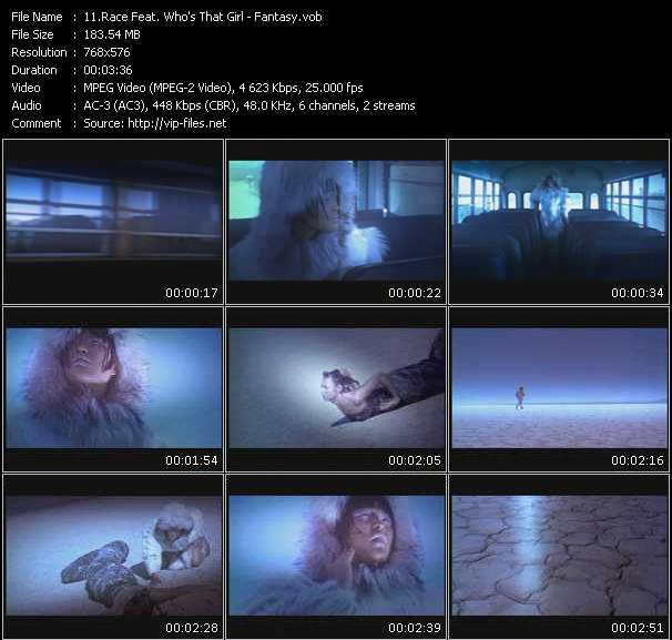 Race Feat. Who's That Girl video screenshot