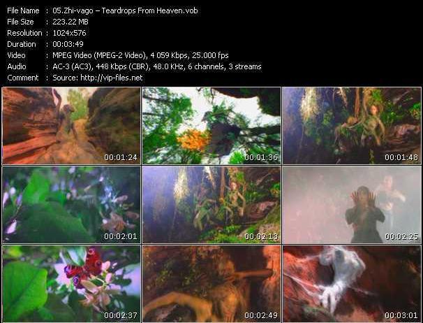 video Teardrops From Heaven screen