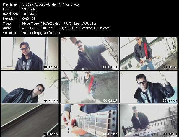 Cary August video screenshot