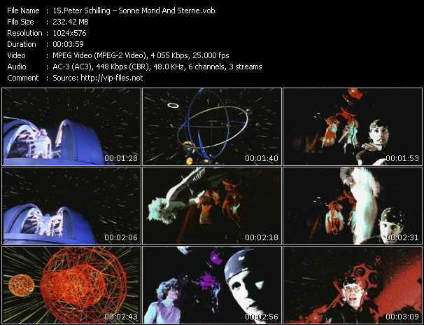 Peter Schilling video screenshot