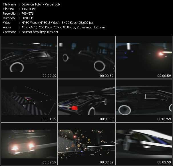 Amon Tobin video screenshot