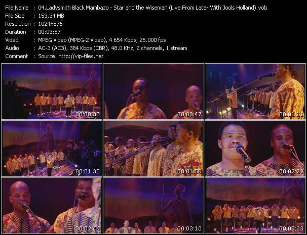 Ladysmith Black Mambazo video screenshot