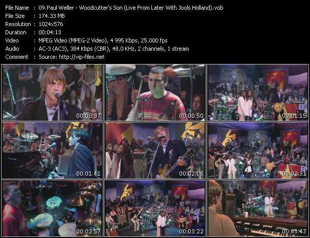 video Woodcutter's Son (Live From Later With Jools Holland) screen