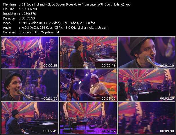 Jools Holland video screenshot