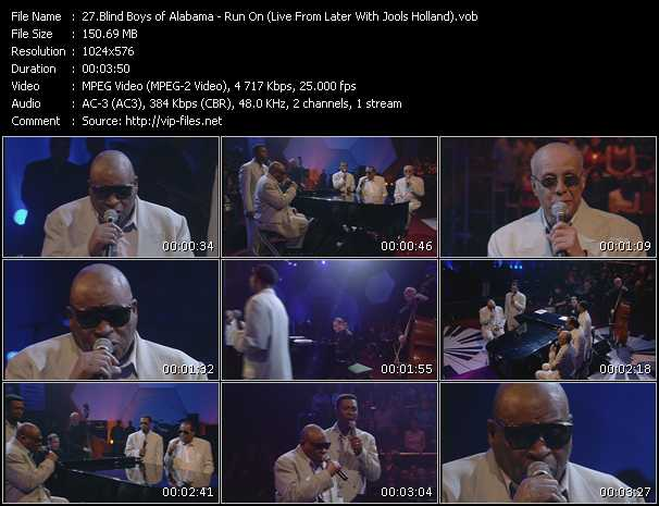 Blind Boys Of Alabama video screenshot