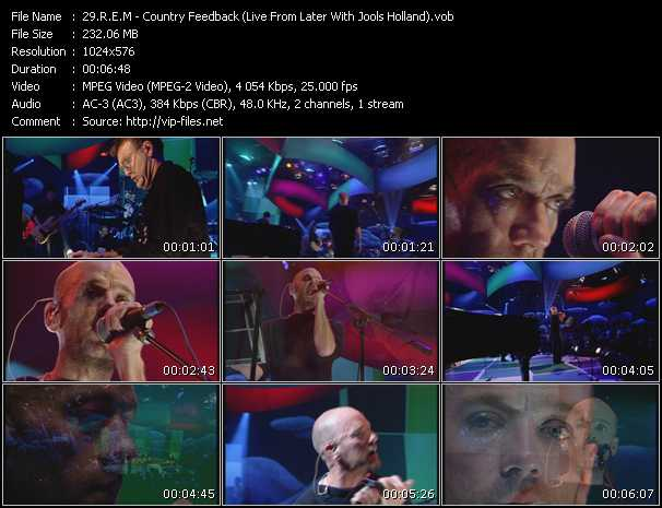 video Country Feedback (Live From Later With Jools Holland) screen