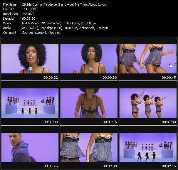 Ida Corr Vs. Fedde Le Grand video screenshot