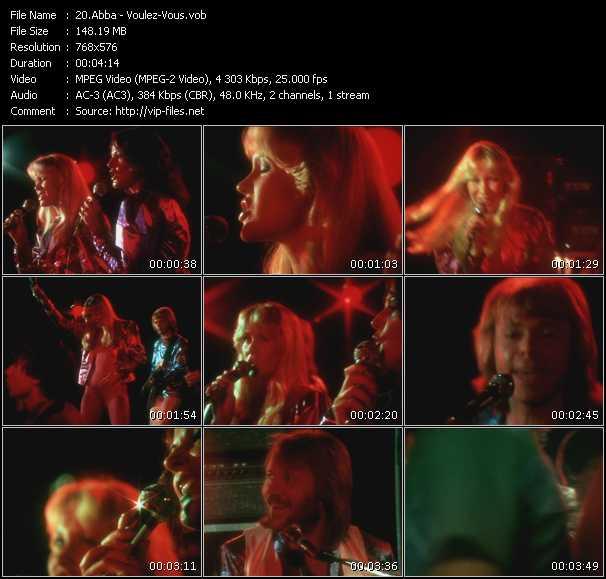 video Voulez-Vous screen