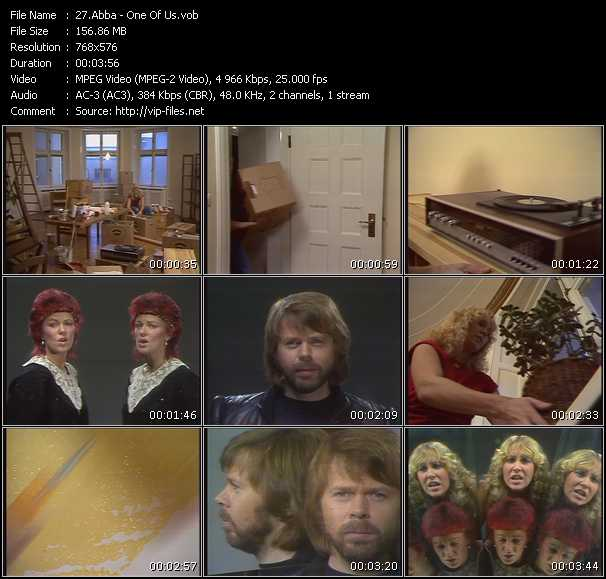 Abba the winner takes it all clip
