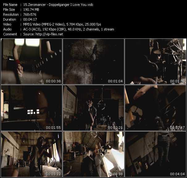 Zeromancer video screenshot