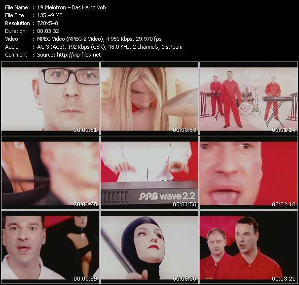 Melotron video screenshot