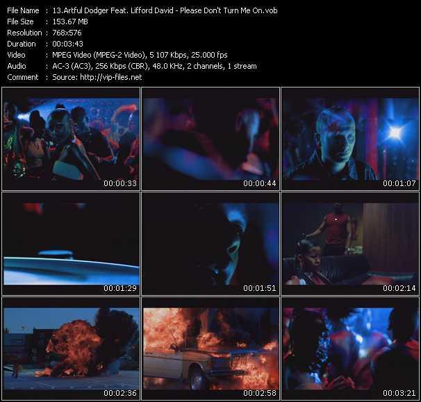 Artful Dodger Feat. Lifford David video screenshot