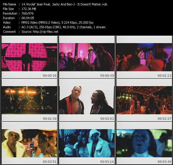 Wyclef Jean Feat. Jacky And Ben-J video screenshot