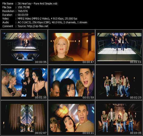 Hear'Say video screenshot