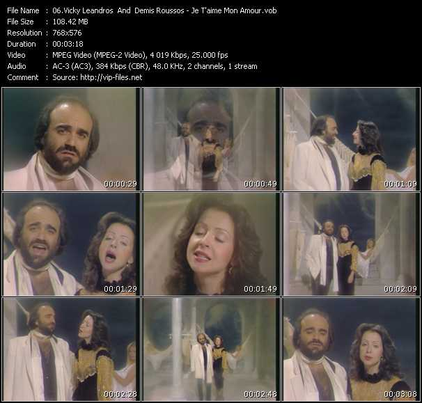 Vicky Leandros And Demis Roussos video screenshot