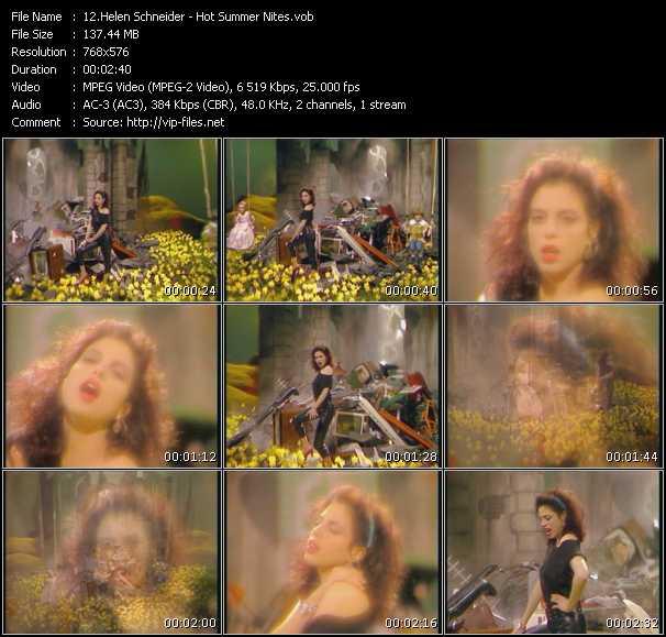 Helen Schneider video screenshot