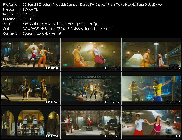 Sunidhi Chauhan And Labh Janhua video screenshot