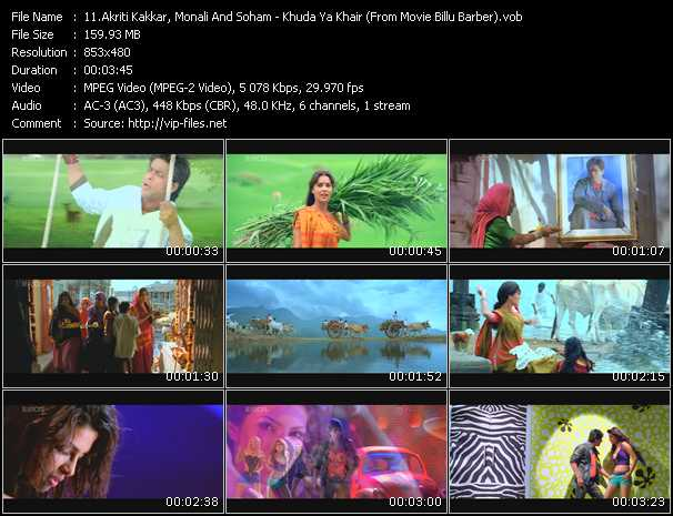 Akriti Kakkar, Monali And Soham video screenshot