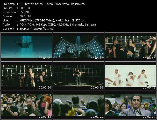 Shreya Ghoshal video screenshot