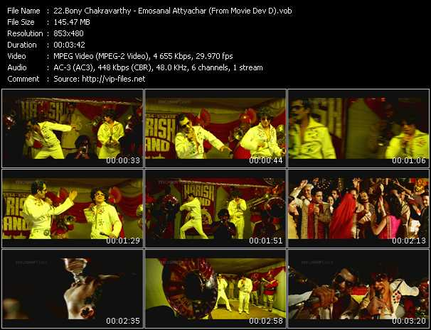 Bony Chakravarthy video screenshot