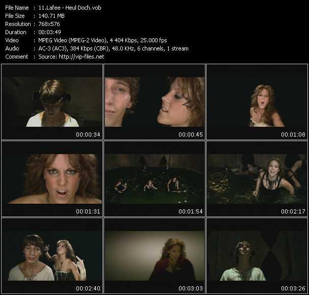 Lafee video screenshot