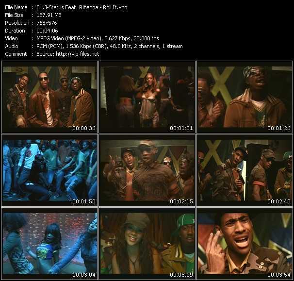J-Status Feat. Rihanna video screenshot