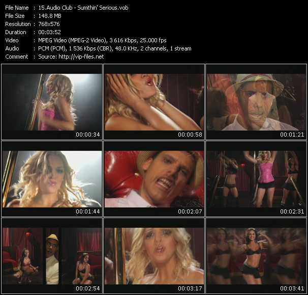 Audio Club video screenshot