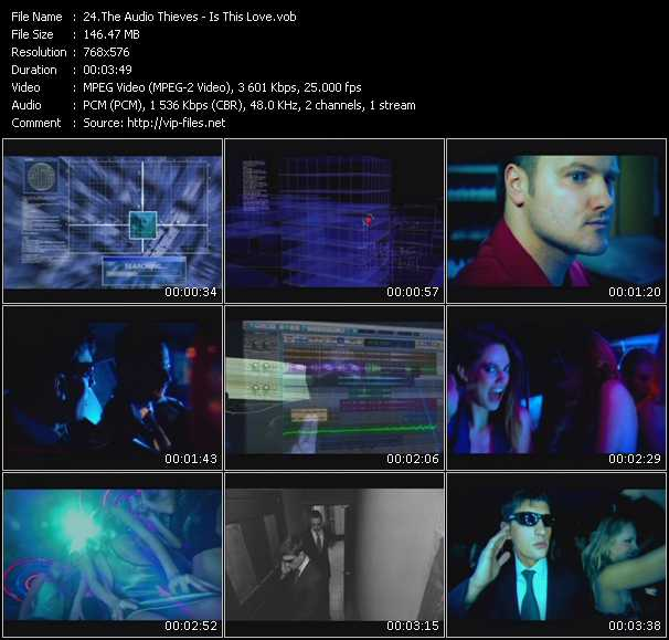 Audio Thieves video screenshot