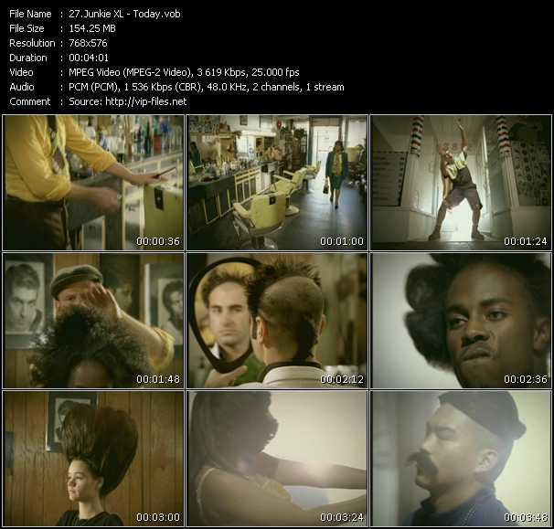 Junkie XL video screenshot
