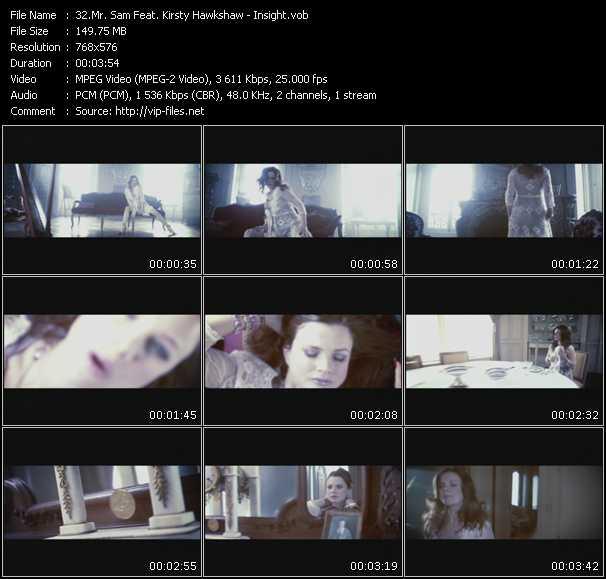 Mr. Sam Feat. Kirsty Hawkshaw video screenshot