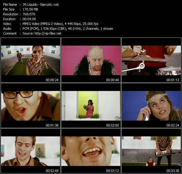 Liquido video screenshot