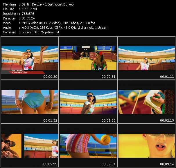 Tim Deluxe video screenshot