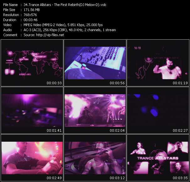 Dj Melow-D (Trance Allstars) video screenshot