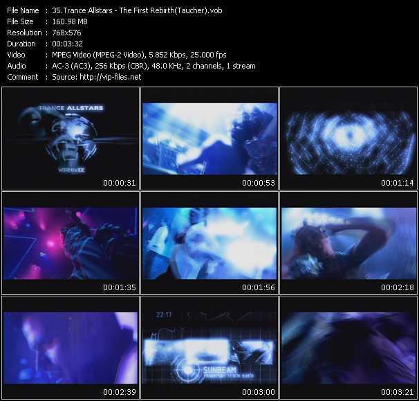 Taucher (Trance Allstars) video screenshot
