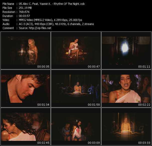 Alex C. Feat. Yasmin K. (Y-Ass) video screenshot