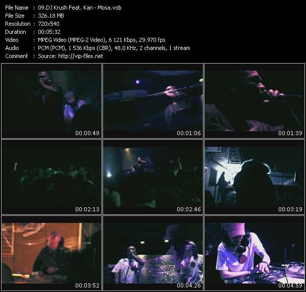Dj Krush Feat. Kan video screenshot