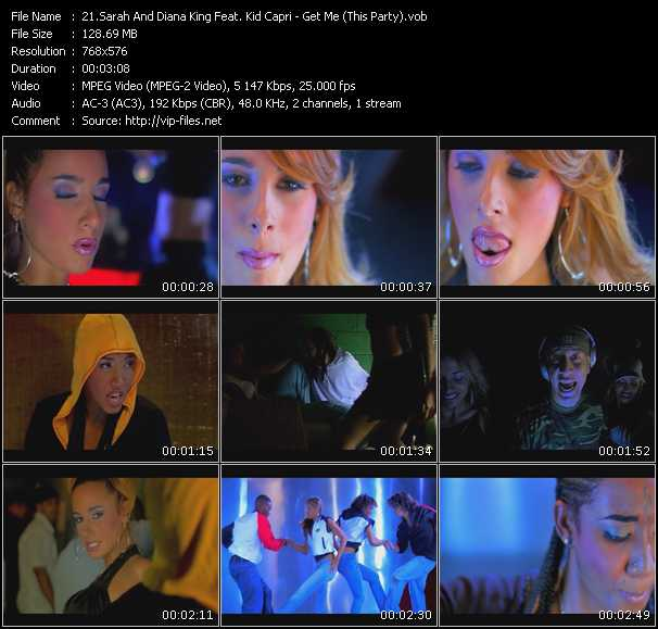 Sarah And Diana King Feat. Kid Capri video screenshot