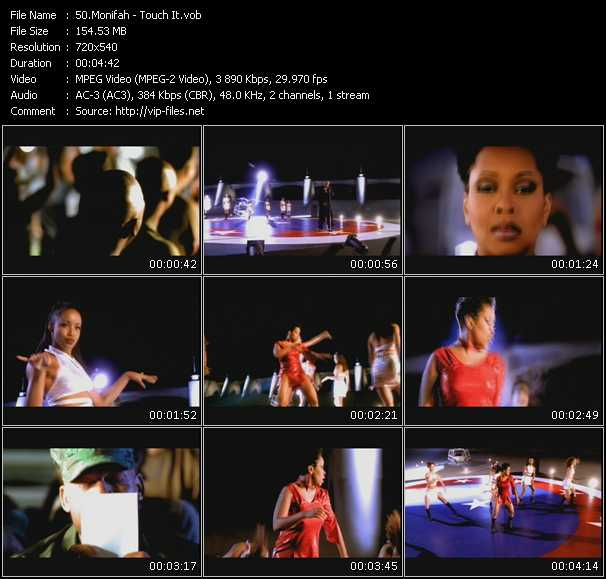Monifah video screenshot