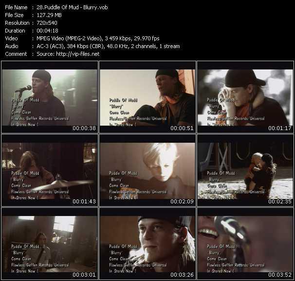 Puddle Of Mudd video screenshot